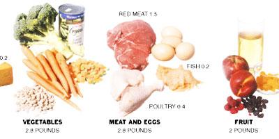 american weekly diet - click to enlarge