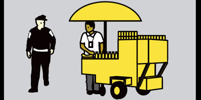 Street vendor project - click to enlarge