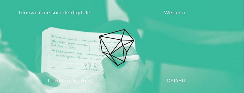 Ciclo di webinar – Innovazione SocialeDigitale