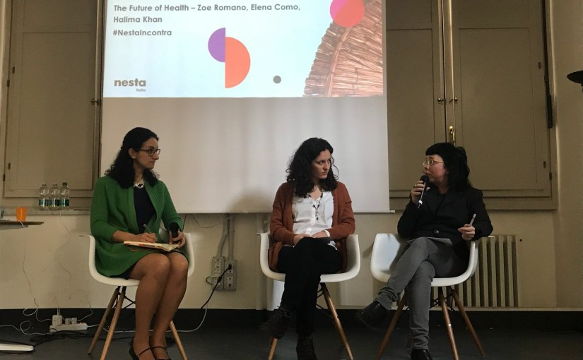 Nesta Italia Incontra – The future of health